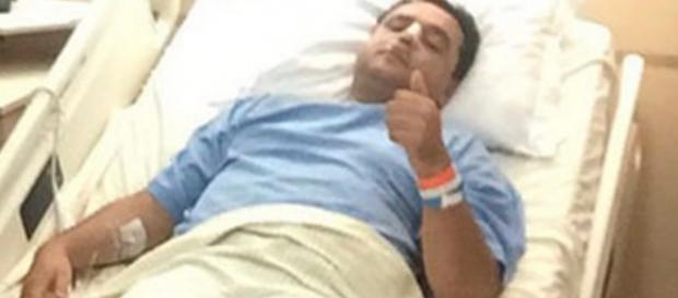 Geraldo Luís é internado e passa por cirurgia
