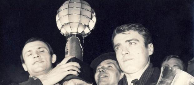 Gruia și Otelea cu Cupa Campionilor Europeni