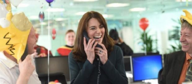 Kate Middleton broker per un giorno