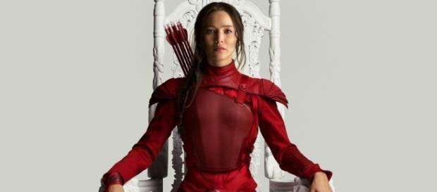 Katniss Everdeen em Jogos Vorazes - A Esperança