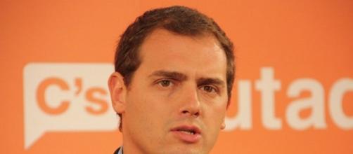 Albert Rivera candidato de Ciudadanos.