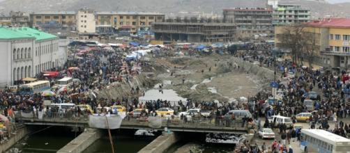Atentado en Kabul, Afganistán.