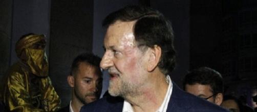 Rajoy, minutos después de la agresión