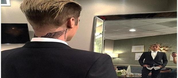 Nova tatuagem de Justin Bieber