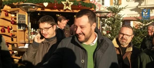 Salvini con cittadini truffati dalla Banca Etruria