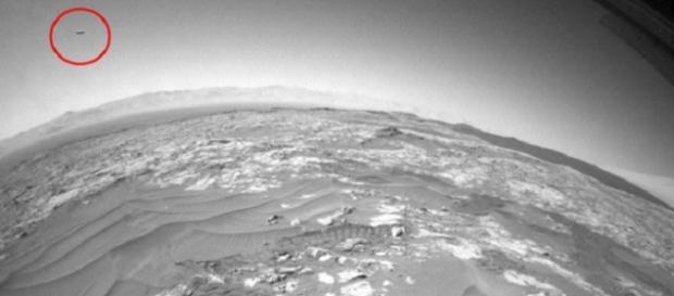 Ufo: nuovo avvistamento su Marte per la Nasa