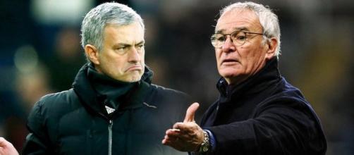 I due mister Jose Mourinho e Claudio Ranieri