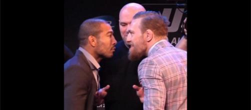José Aldo e Conor McGregor - UFC 194