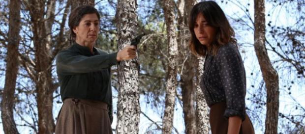 Il Segreto: Micaela minaccia Mariana