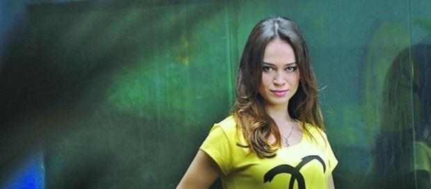 Marcella Valente foi Júlia em 'Além do Horizonte'
