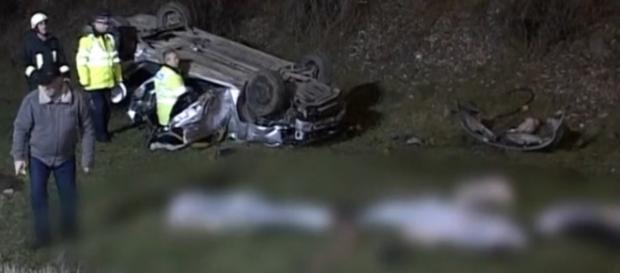 Patru tineri morți într-un accident la Bistrița