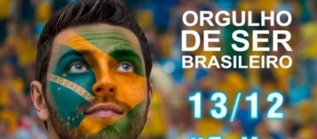 Brasileiros fazem manifestação nesse domingo 13/12