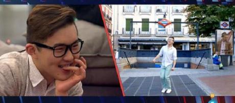 Aritz aparece en el vídeo de Han
