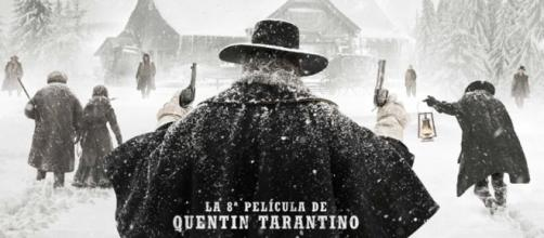 Cartel español para 'The hateful eight'