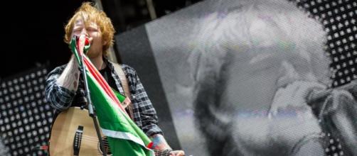 Ed Sheeran no Rock In Rio Lisboa em 2014
