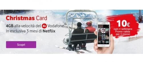 Offerta Vodafone Christmas Card 2015
