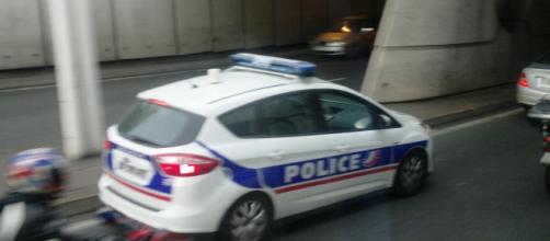 Policía de Francia en constante acción