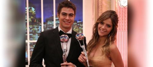 Rafael Vitti e Isabella Santoni se encontram na TV