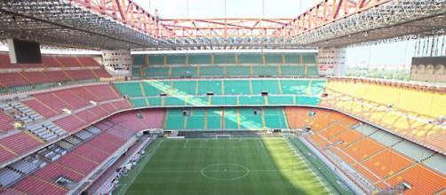 """Stadio """"San Siro"""", campo di gioco di Milan e Inter"""