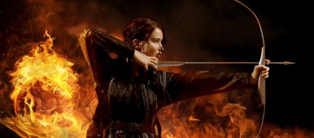 Katniss Everdeen, protagonista de la saga.