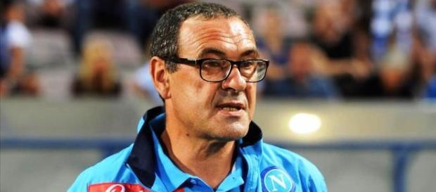 Maurizio Sarri allenatore del Napoli