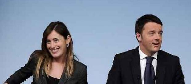 Salva-banche, premier Renzi e ministro Boschi.