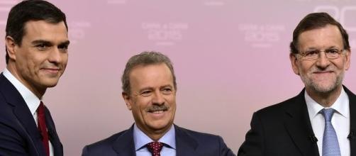 """Foto previa al debate """"Cara a Cara 2015"""""""