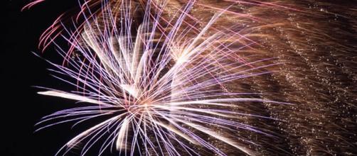 Fuochi d'artificio per il Capodanno