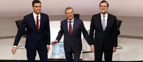 Imagen del debate del año 2015 entre Rajoy-Sáchez