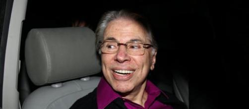 O apresentador e empresário Silvio Santos
