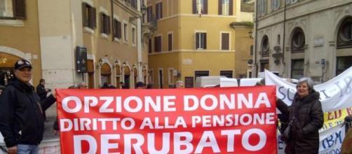 Opzione donna, tra novità e pressing a Renzi