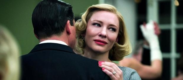 A atriz Cate Blanchett em 'Carol'