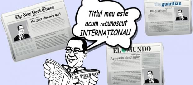 Doctoratul lui Ponta a fost un subiect de polemică