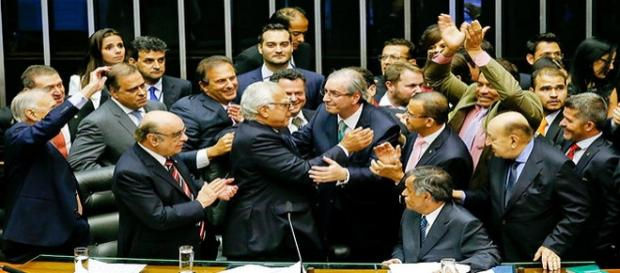 Eduardo Cunha, processo de cassação aprovado