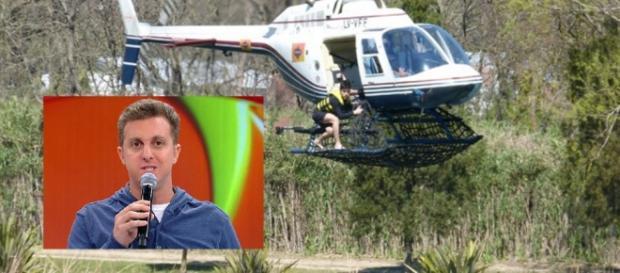 Helicóptero de reality do 'Caldeirão do Huck' cai