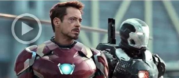 Iron-Man y War Machine se preparan para la batalla