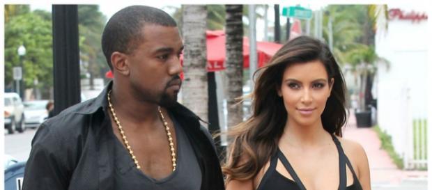 Kim Kardashian e Kanye não se entendem