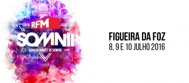 O RFM Somnii está marcado para 8, 9 e 10 de julho.