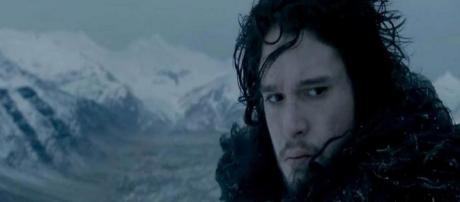 Jon Nieve en un capítulo de la quinta temporada