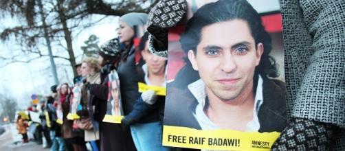 Concentración para la liberación de Raif Badawi