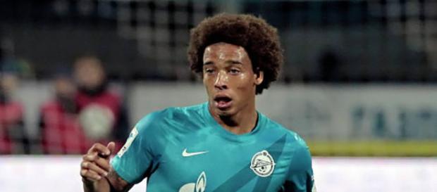 Axel Witsel, en un partido con el Zenit