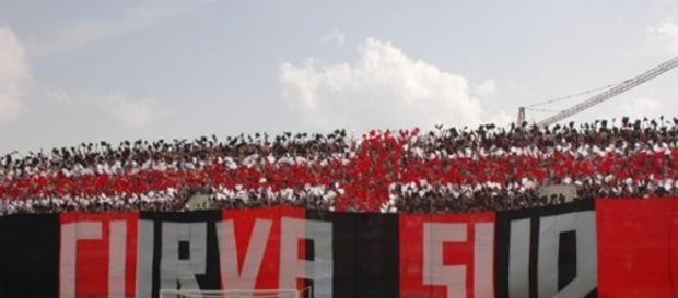 Curva sud Foggia, foto del sito FoggiaToday