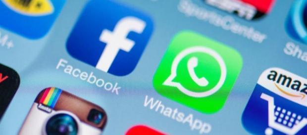 Immagine delle applicazioni di uno smartphone