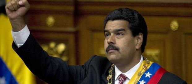 Le President du Venezuela, Nicolas Maduro Moros