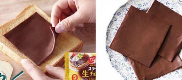 Le sottilette al gusto di Nutella.