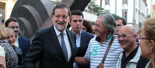 Paseo de Rajoy por Las Palmas. Foto: GARDEU