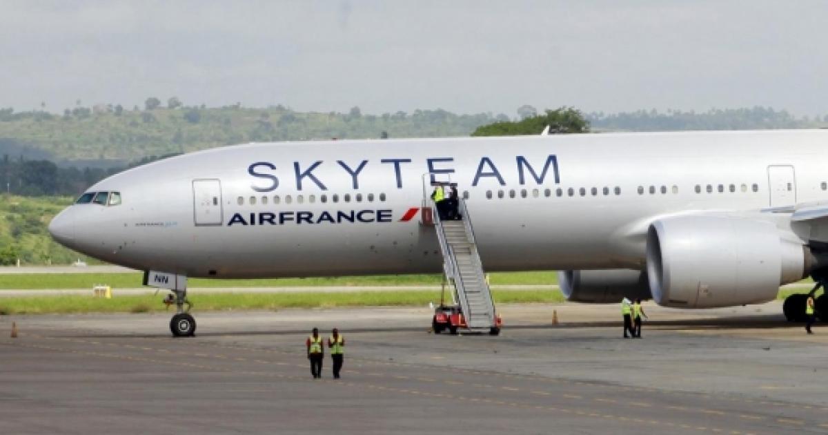 Air France Bombe