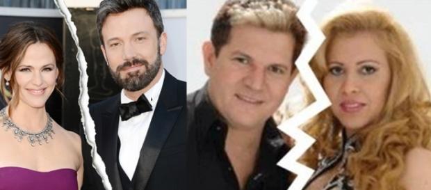 Casais famosos que terminaram casamento em 2015