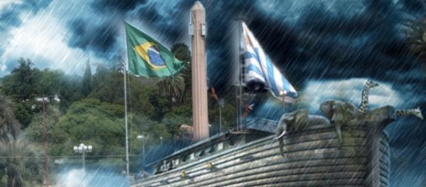 Fronteira da Paz enfrenta verdadeiro dilúvio