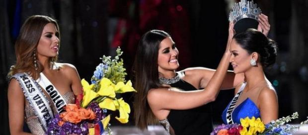 Gafe, resultado errado tira coroa da colombiana
